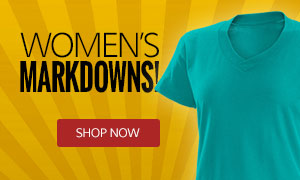 Image of Teal Women's Summer V-Neck T-Shirt on Sale