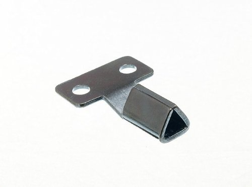 Triangular Gas Electric Utility Meter Box Key Bzp Metal ( Pack Of 10 )