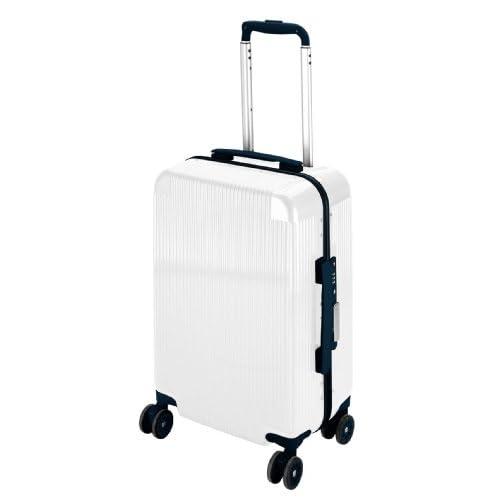 キャプテンスタッグ(CAPTAIN STAG) シック トラベルスーツケース TSAロック付きコンパクトタイプ ホワイト UV-47