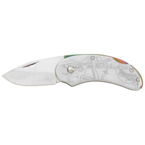 Maxam® Lockback Wolf Knife