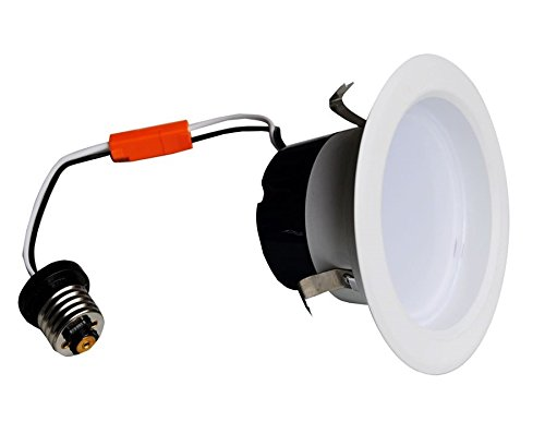 Royoled Ry-Ul12810-4 10W 3000K 4-Inch Dimmable Ul Standard Ultra Bright Led Downlight Recessed Lighting Kit Replaces Other Traditional Lighting,Round