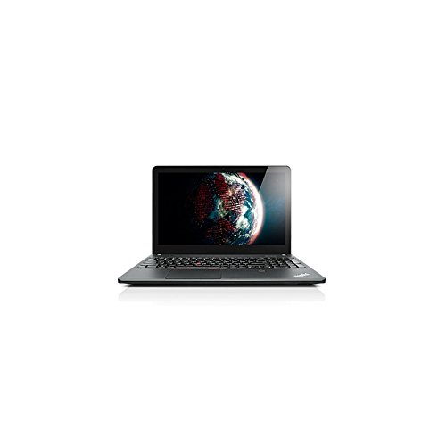 Lenovo ThinkPad E540 20C6 – Core i5 4210M / 2.6 GHz – mise à niveau inférieure Windows 7 Pro 64 bits / Windows 8.1 Pro 64 bits – préinstallé : Windows 7 – 4 Go RAM – 500 Go HDD – graveur de DVD – 15.6″ 1366 x 768 ( HD ) – Intel HD Graphics 4600 – 802.11ac – avec une fine bande argentée (sur le côté), noir (bas), noir mat (haut)