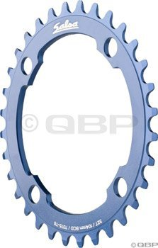 Salsa 32t 104mm 4-bolt Single Speed Chainring Blue