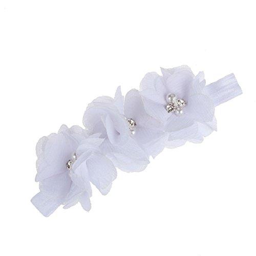 Doinshop New Nice HOT Colorful Foot Flower Barefoot Sandals + Headband Set for Baby Infants Girls new for epson usb interface m148e ub u03ii tm t88ii tm t88iii tm u675 tm u220 a187