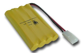 9.6V Ni-Cd 500mAh Rechargeable Battery Pack 2pin for Radio Controlled Toys