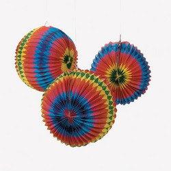 "Rainbow Balloon Lanterns/party Decor/Luau/Fiesta/Decorations - Gay Pride (6 Pack) 12"". Paper - 1"