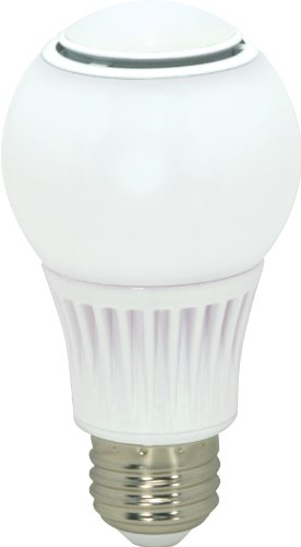 Satco S9038 10.5 Watt (60 Watt) 830 Lumens A19 Led Neutral White 3500K Omnix 360 Beam Pattern Kolourone Light Bulb, Dimmable