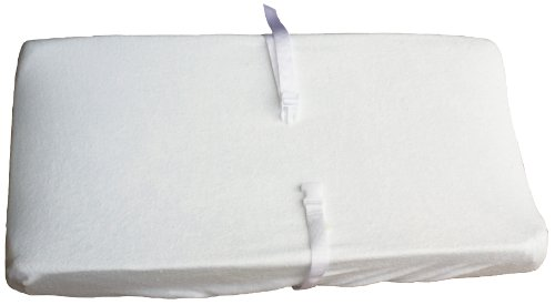 Colgate Terry Cloth Contour Changing Pad Cover, White front-417659