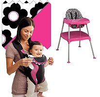 Evenflo High Chair / Soft Carrier Bundle - Marianna