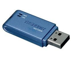 Trendnet Compact Bluetooth Usb Adapter Tbw-105Ub (Blue)