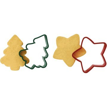 Tree & Star Cookie Shapers