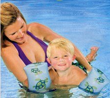 """9"""" Swimming Arm Bands For Kids - Arm Floats. Sea Turtles front-445211"""