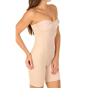 Miraclesuit Strapless Thigh Slimming Bodybriefer (2791) 40C/Cupid Nude