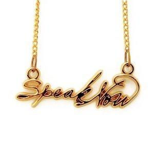 Taylor Swift Bracelet on Taylor Swift Speak Now Necklace   Bracelets