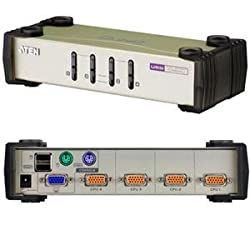 Aten Corp CS84U 4-Port USB-PS/2 KVM