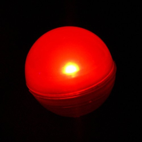 Fairy Berries, Tiny Round Led Lights, Water Resistant, 10 Pack, Red