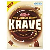 Kellogg's White Chocolate Brownie Krave 375G