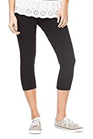 Indigo Collection Cotton Rich Cropped Leggings