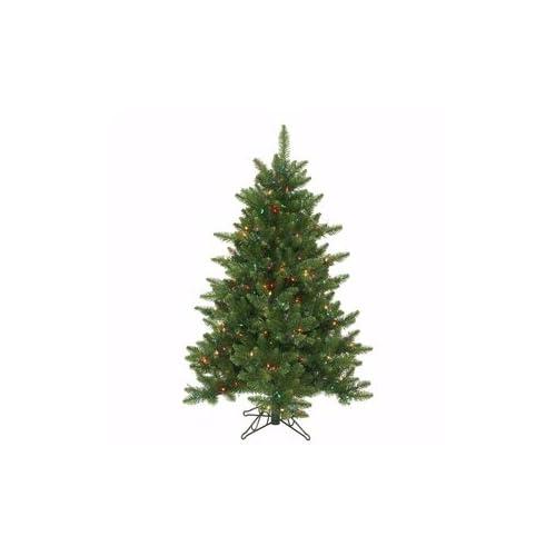 Vickerman 10917   4.5 x 37 Camdon Fir 300 Multi color Lights Christmas Tree (A860947)