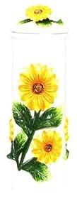 """SUNFLOWER 3-D Ceramic vase """"New"""""""