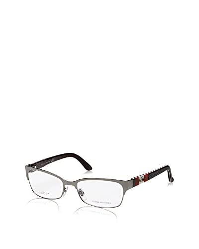 Gucci Women's GG4214 Eyeglasses, Shiny Gunmetal As You See