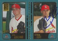 Carmen Cali St. Louis Cardinals 2001 Topps Draft Pick Autographed Hand Signed Trading... by Hall of Fame Memorabilia
