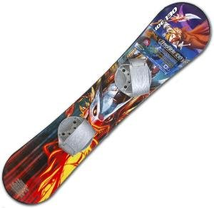 FREERIDE 130CM INTERMEDIATE SNOWBOARD COLOR STYLES WILL VARY DEPENDING ON STOCK