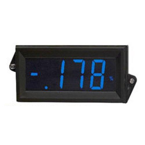 Osmvp-809B Blue Back-Lit Digital Panel Meter Lcd Display V-In 200Mv, 5V, 10V