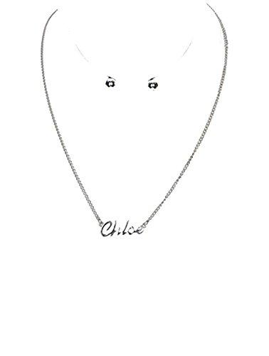 beyoutifulthings-acier-inoxydable-collier-pendentif-argent-inscription-chloe-longueur-40-cm-1-paire-