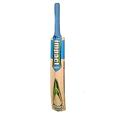 BLT IMPACT ON DRIVE Leather Cricket Bat with full cover
