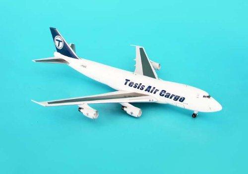 Aviation 400 Tesis Air Cargo B747-200F Model Airplane