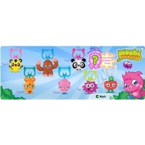 McDonald's Happy Meal Toy - 2012 Moshi Monsters #2 Katsuma