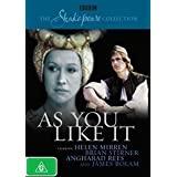 "The Shakespeare Collection: As You Like It [Australien Import]von ""Angharad Rees"""