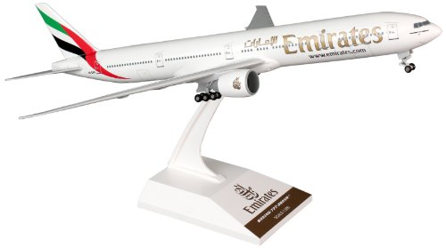 Daron Skymarks Emirates 777-300ER Airplane Model Building Kit with Gear, 1/200-Scale (Emirates Model compare prices)