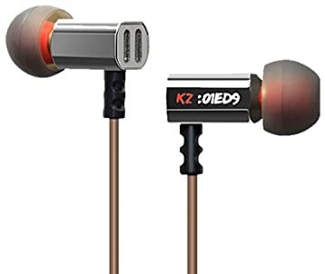 KZ イヤフォン3.5mm 重低音 HIFI DJステレオ耳栓イヤフォン ノイズ隔離 ED9