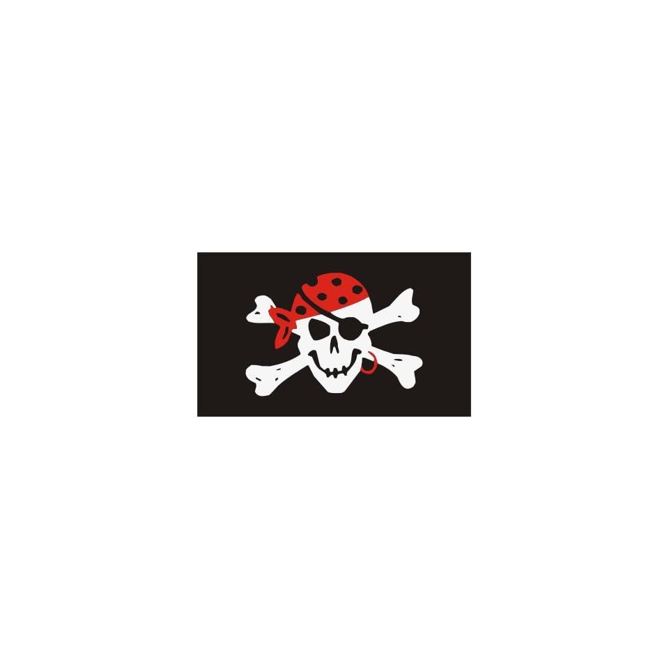 CAPTAIN JACK COVE BANDANA PIRATE SKULL AND BONES FLAG