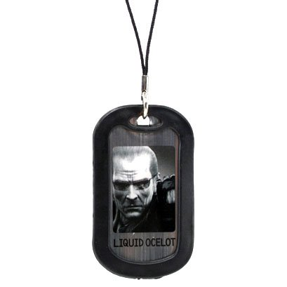 Metal Gear Solid 4 - Dog tag - Liquid Ocelot