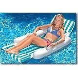International Leisure Sunchaser Padded Floating Lounger