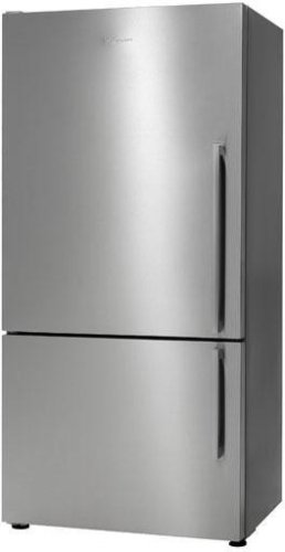 Fisher Paykel E522BRXFD 17.6 cu ft Bottom-Freezer Refrigerator - Stainless Flat Door Right Hinge