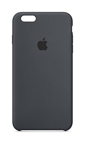 Apple MKXJ2ZM/A Silikon Schutzhülle für Apple iPhone 6 Plus/6S Plus  anthrazit