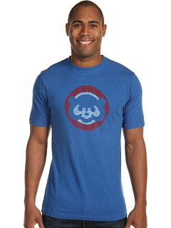Chicago Cubs Retro Cubbie-Bear Logo T-Shirt by Red Jacket by Red Jacket