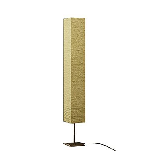 Lampada piantana da terra moderna 1,70 m. in carta di riso.