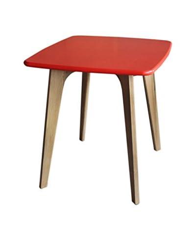 Gallerie Décor Vista Square Table, Orange