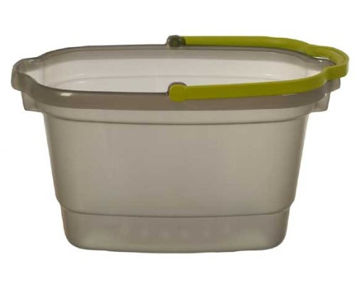 Way Clean 33066 4 Gallon Bucket - Grey/Green