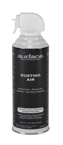 Audiovox Surface SURF303 10 Oz Canned Air for Electronics Cleaning
