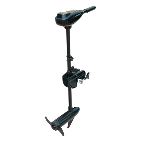 HYDRO-FORCE 12V ELECTRIC OUTBOARD TROLLING MOTOR 55lbs thrust, 5 forward and 3 reverse speeds