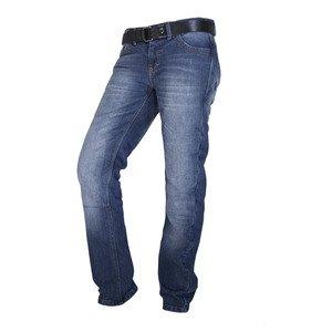 Overlap OVP-CRYSTAL-SMALT26 Jeans de Moto Crystal Smalt Bleu Taille 26
