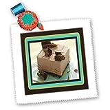 Frozen Chocolate Mousse - 10x10 Quilt Square