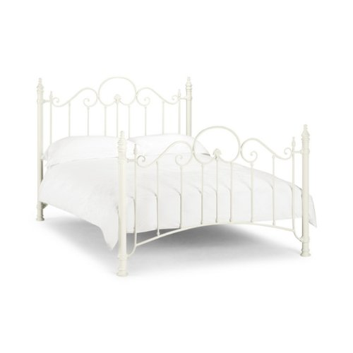 Tuscany king size high end metal bed frame free next day for High end king size bed