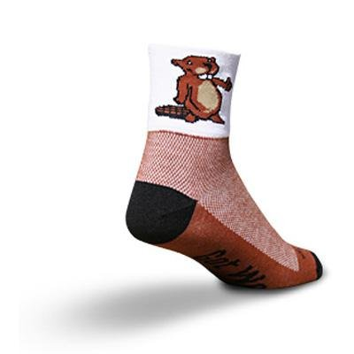Image of SockGuy Classic 3in Beaver Cycling/Running Socks (B0025L1UI8)